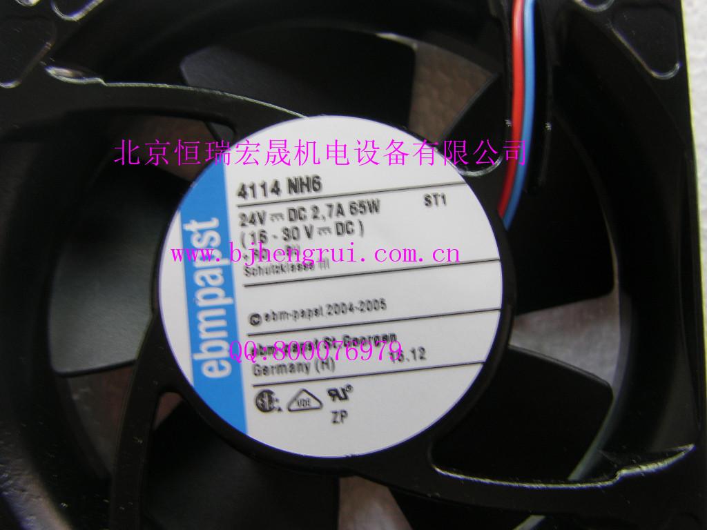 供应ebm-papst 4100N 系列 4114NH6直流 散热风扇