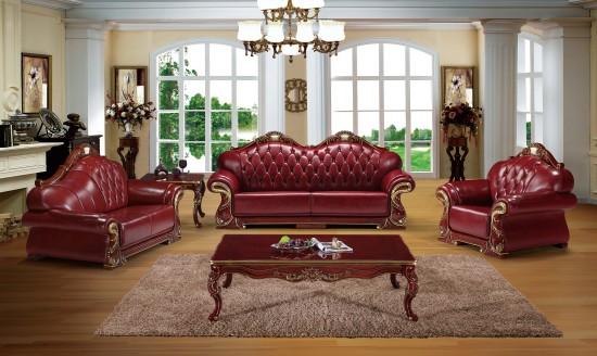 酒店实木沙发 欧式风格 美容店沙