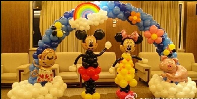 北京批发氦气球,生日派对气球,宝宝宴气球装饰,放飞气球批发