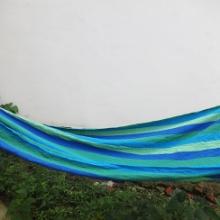 户外休闲吊椅 1米加厚帆布吊床 织带网状吊床厂家电话 帐篷批发