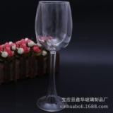 创意双层高脚玻璃杯 欧式创意捣塘双层红酒杯 高脚杯双层杯定制