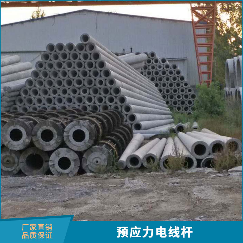 济宁山力水泥制品供应预应力电线杆钢筋混凝土电杆水泥电线杆