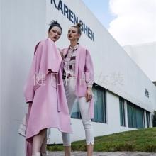 上海高端品牌凯伦诗羽绒服大衣商场品牌女装店的拿货一手渠道批发