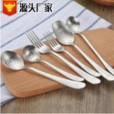 304不锈钢韩式儿童创意卡通餐具 餐勺子咖啡勺 叉子厂家直销现货