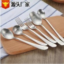 304不锈钢韩式儿童创意卡通餐具 餐勺子咖啡勺 叉子厂家直销现货批发