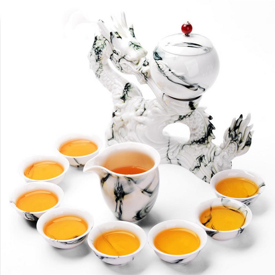 仿古精品陶瓷茶具订制春节礼品茶具