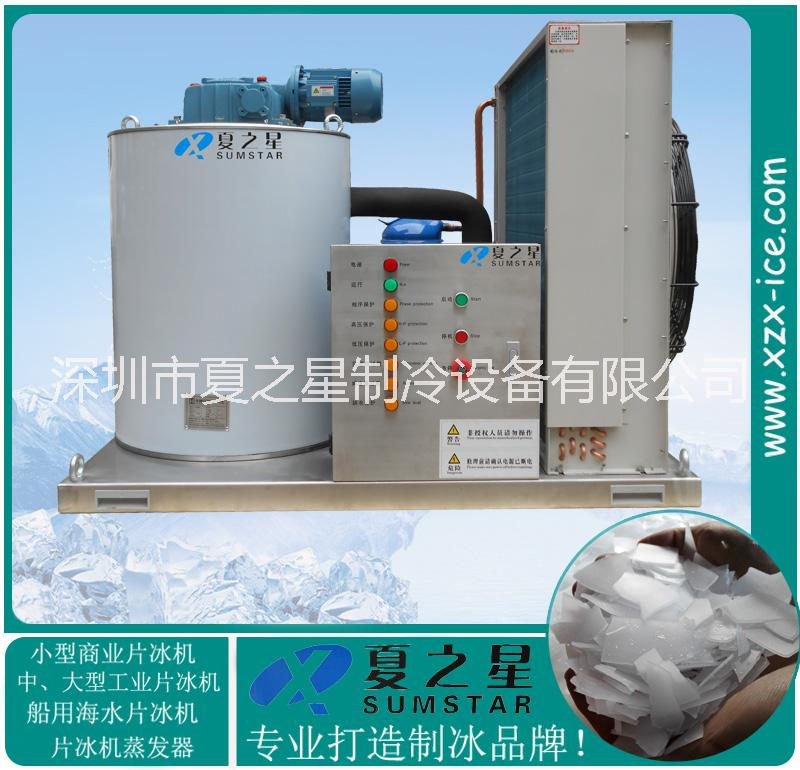 湖北咸宁实验室制冷设备制冰机雪花机 咸宁日产1.5T片状制冰机厂家