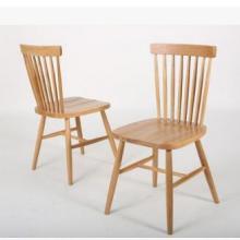 美国进口白橡木餐椅田园风简约温莎椅实木椅子休闲餐椅电脑椅批发