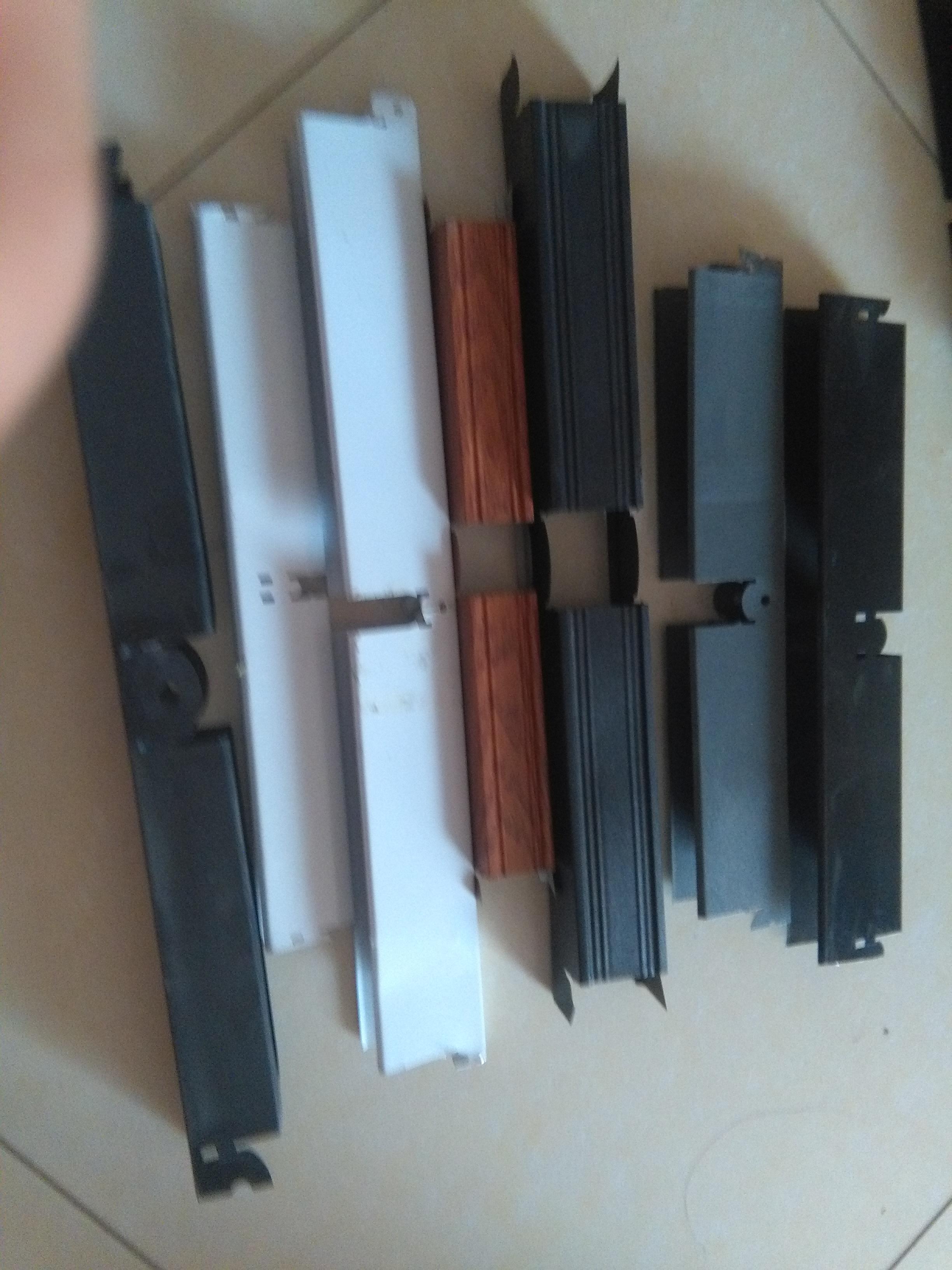 金辉批发黑色铝格栅 10底50高100格子铝格栅天花吊顶厂家