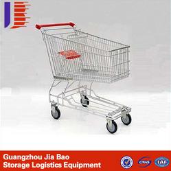 广州佳葆新款热卖 超市购物手推车 便捷手拉车 超市购物车