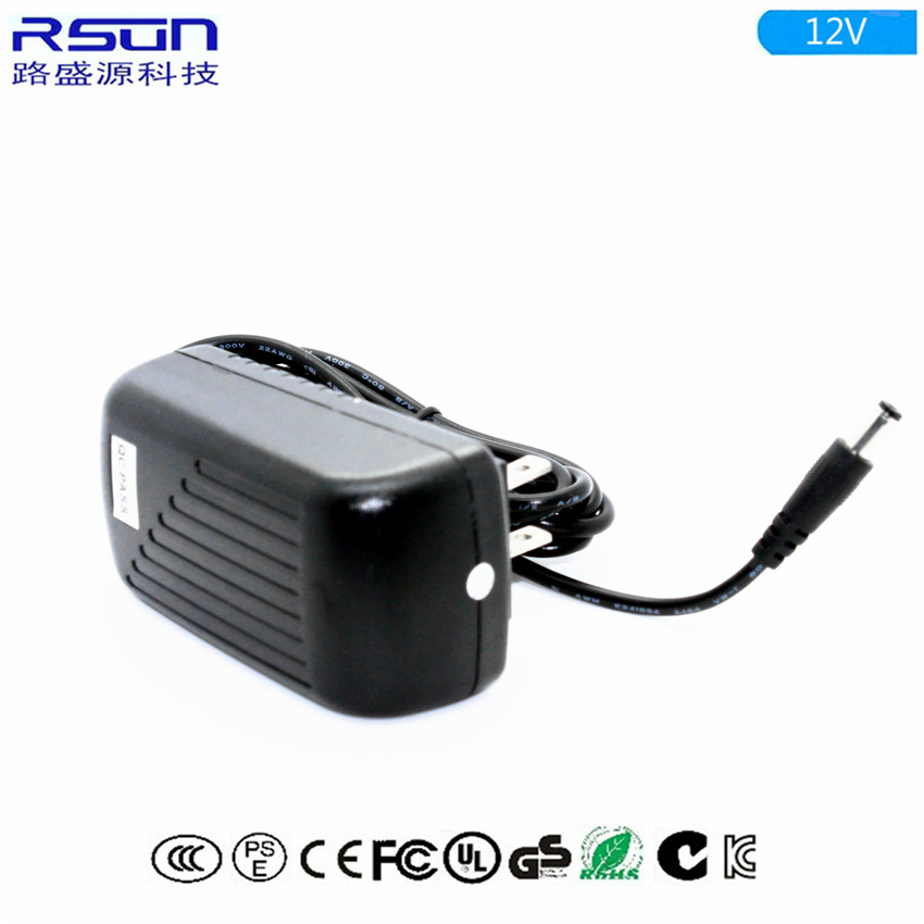 热销12v3a中规电源适配器 36W开关电源一体机适配器 足安