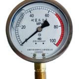 防震压力表型号规格,量程,精度