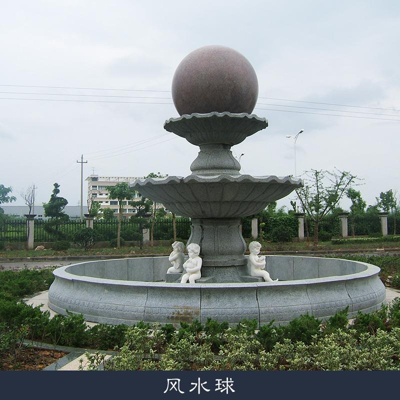 喷泉摆件风水球制作图片描述:风水球制作大理石欧式