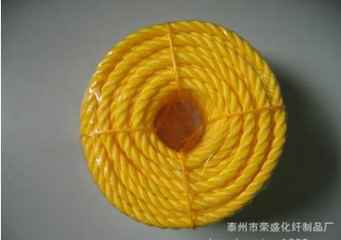 支持混批 聚乙烯三股缆绳 船舶高强度缆绳 防腐缆绳 安全缆绳
