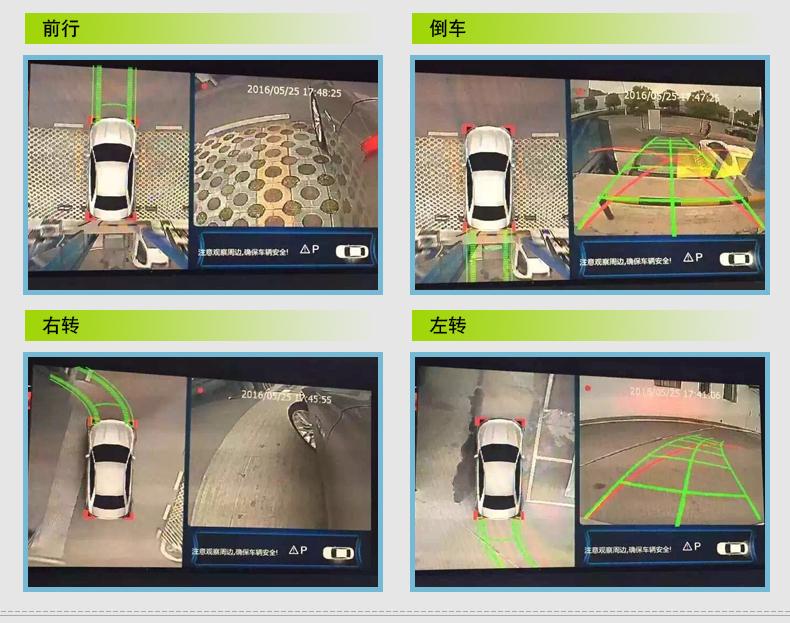 成都奔驰C级S级GLC新E级36 成都奔驰360度全景记录仪 成都奔驰360度全景记录仪改装