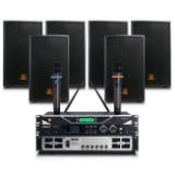 会议音箱组合套装 店铺背景音乐培训设备 会议音响系统