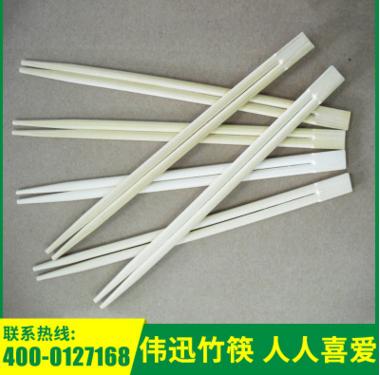 厂家直供 竹制饭店一次性筷子 23cm双生筷子 一次性竹筷子加工