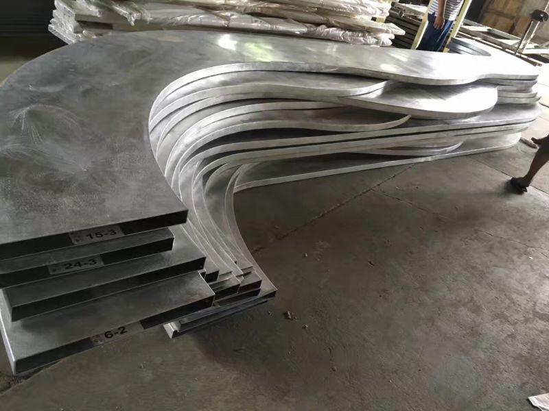 沈阳弧型铝方通厂家定制&金属型材铝方通&铝方通50米起批发