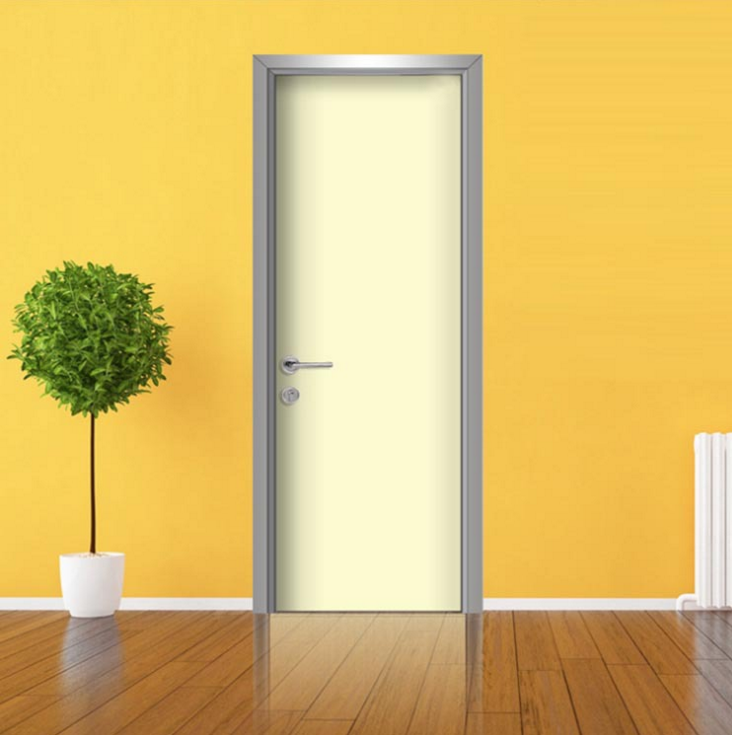 厂家直销实木复合门 环保烤漆生态门 防盗室内房间门 平开卧室门
