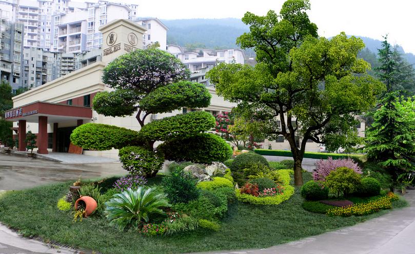 赤峰小区绿化工程承包 公园绿地设计