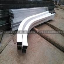弧形铝方管,广东弧形铝方管厂家,厂家定制,量大从优批发
