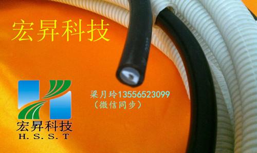 长沙静电喷漆机专用静电线150K 低价出售13mm绝缘线含套管安全性能高