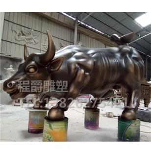 牛雕塑图片