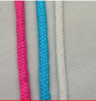 现货批发彩色圆棉绳 编织包芯圆棉绳 手工DIY抽绳 服装裤腰绳子