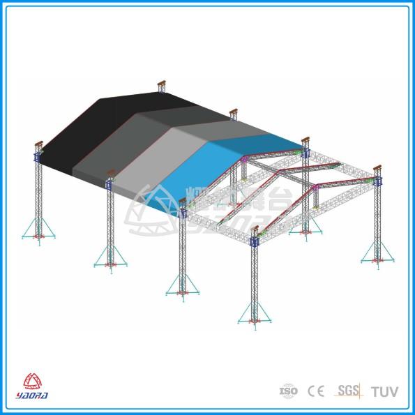 供应铝合金展览架、户外帐篷架、桁架、舞台灯光架、婚庆大棚架、灯光音响吊架