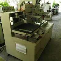 二手半自动平面丝网印刷机出售 二手高精密网印巨星