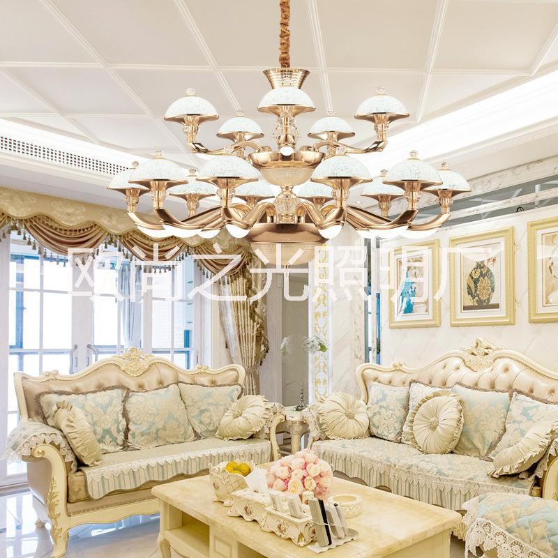 中山市水晶吊灯|水晶吊灯供应商|欧式黄色皇室教堂楼.