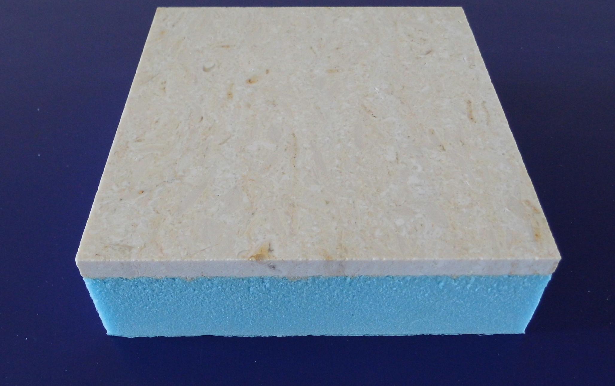 奥金米黄大理石保温装饰复合板