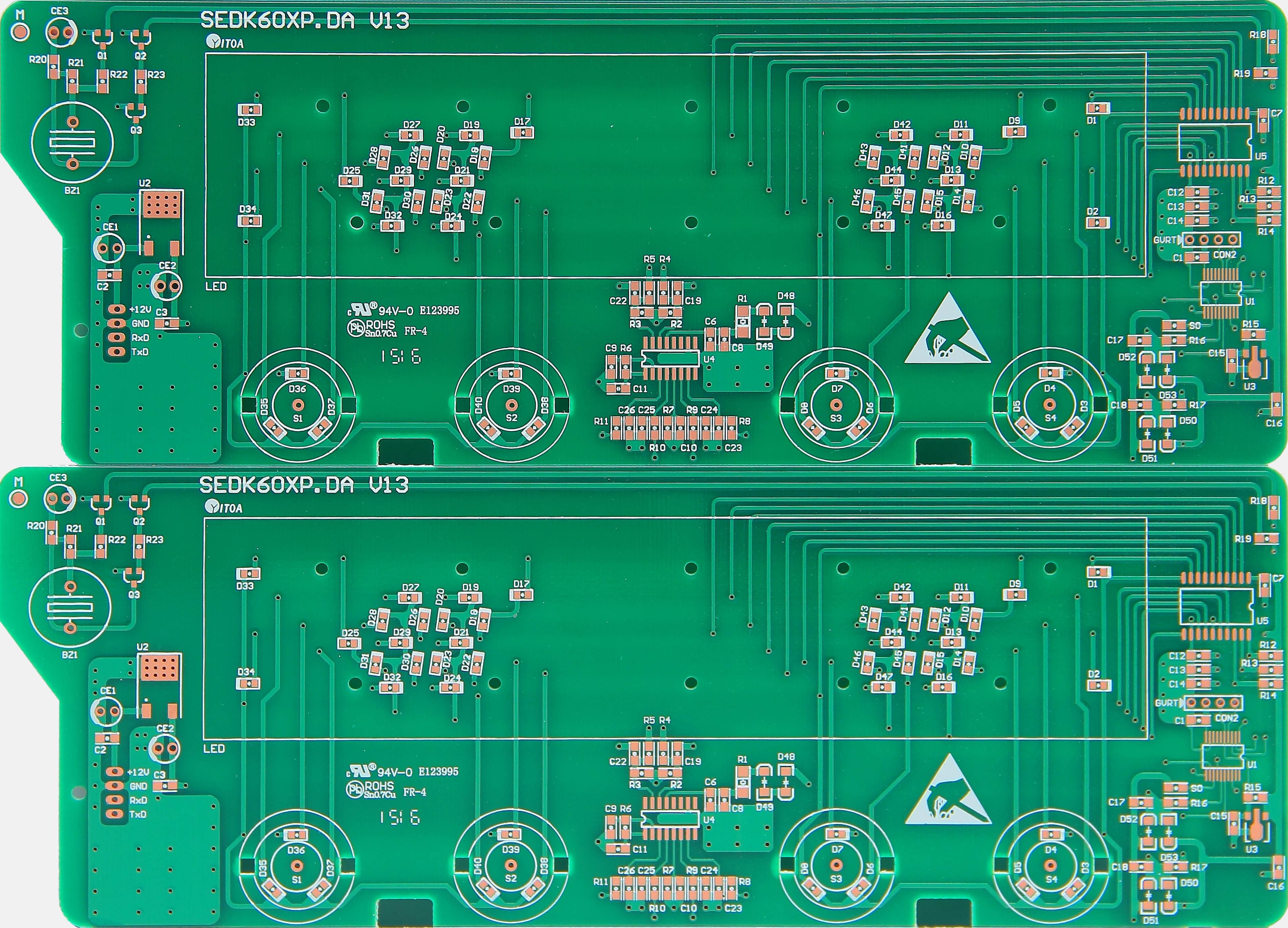 厂家供应高品质 双面沉金板 双面线路板 广东双面线路板 双面板 深圳双面板 双面板生产