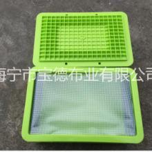 供货PVC透明夹网布 pvc夹网防水布阻燃防尘布