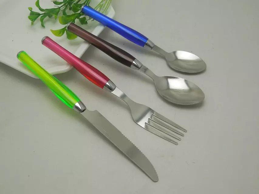 厂家推荐 精致广告餐具礼品 餐具套装刀叉勺