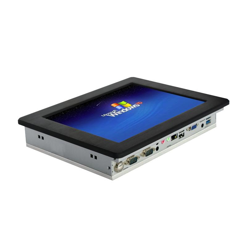 10寸驾考工业平板电脑激光打标设备工控电脑一体机厂家直销