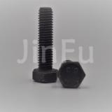 不锈钢/铜/铁/碳钢外六角螺丝镀黑锌 上海金福钛业制造厂