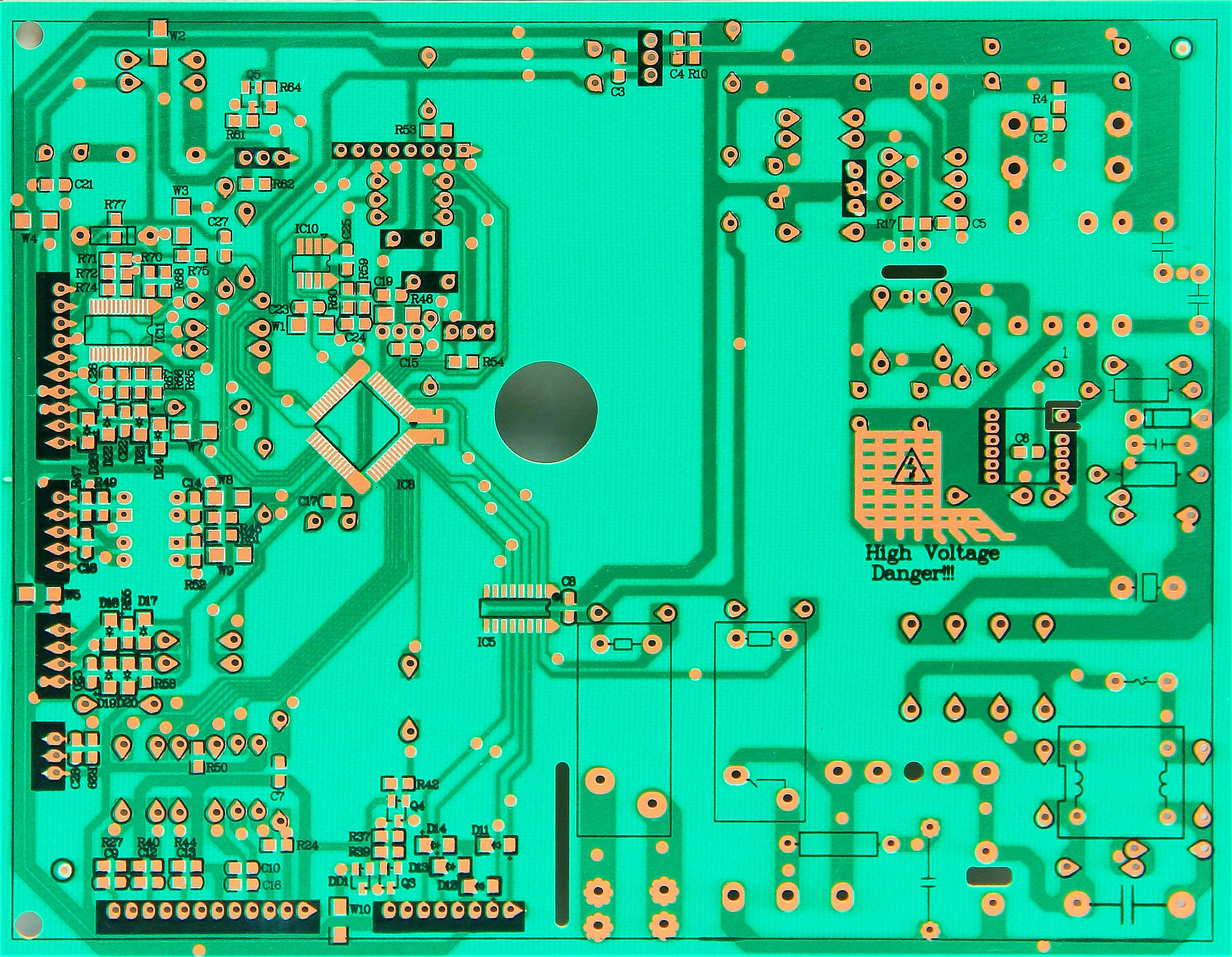 深圳高精密可卷曲pcb柔性线路板加工厂及表面贴装服务