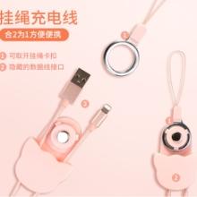 宇安Heo苹果数据线创意数据线挂绳七夕礼物安卓type-c通用苹果数据线,手机挂绳,充电线批发