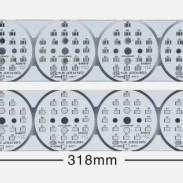 手电筒铝基板图片