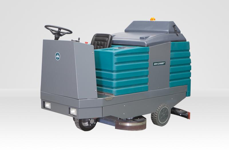 洁驰BA1250BT大型电动洗地车、洗地车价格、洗地车品牌