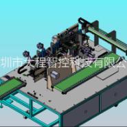 深圳全自动卷芯顶底绕胶机大程智控图片