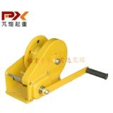 上海JC-C自锁手摇绞车 手动卷扬机厂1200磅 钢丝绳牵引机