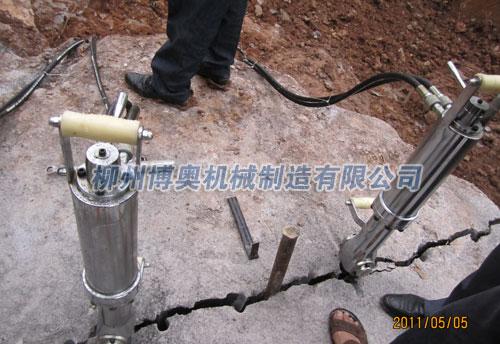 全国领先液压分裂机制造商柳州博奥机械