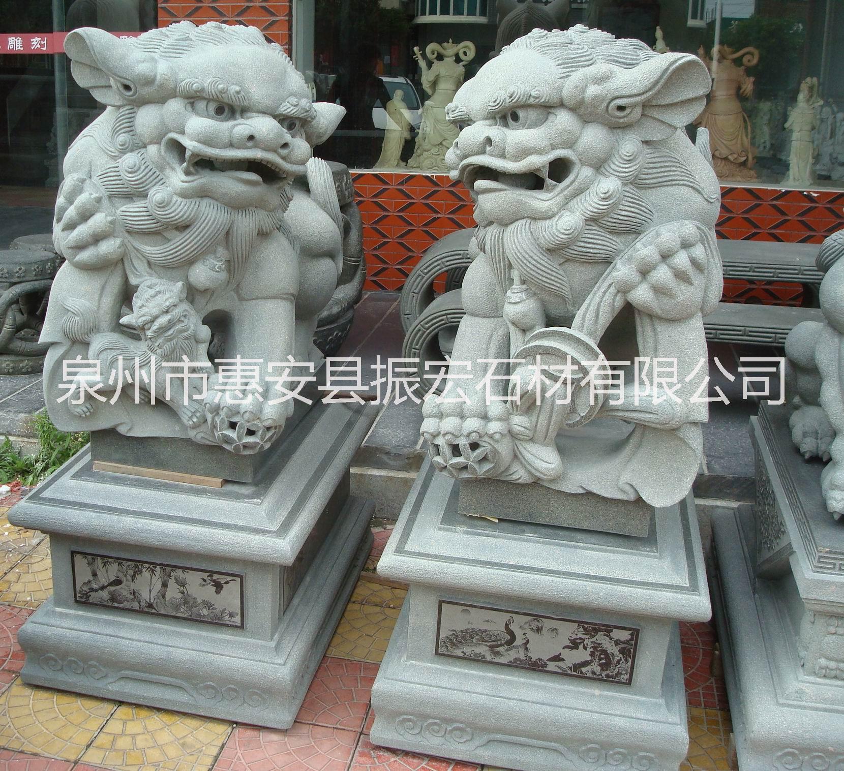 广场石雕 泉州广场石雕定制  泉州广场石雕价格 泉州广场石雕 石雕狮子
