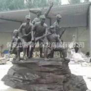 广场人物雕塑图片