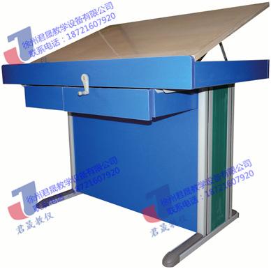 君晟JS-JSZ钢木结构0号绘图桌 钢木结构0号绘图桌 0号绘图桌 0号制图桌