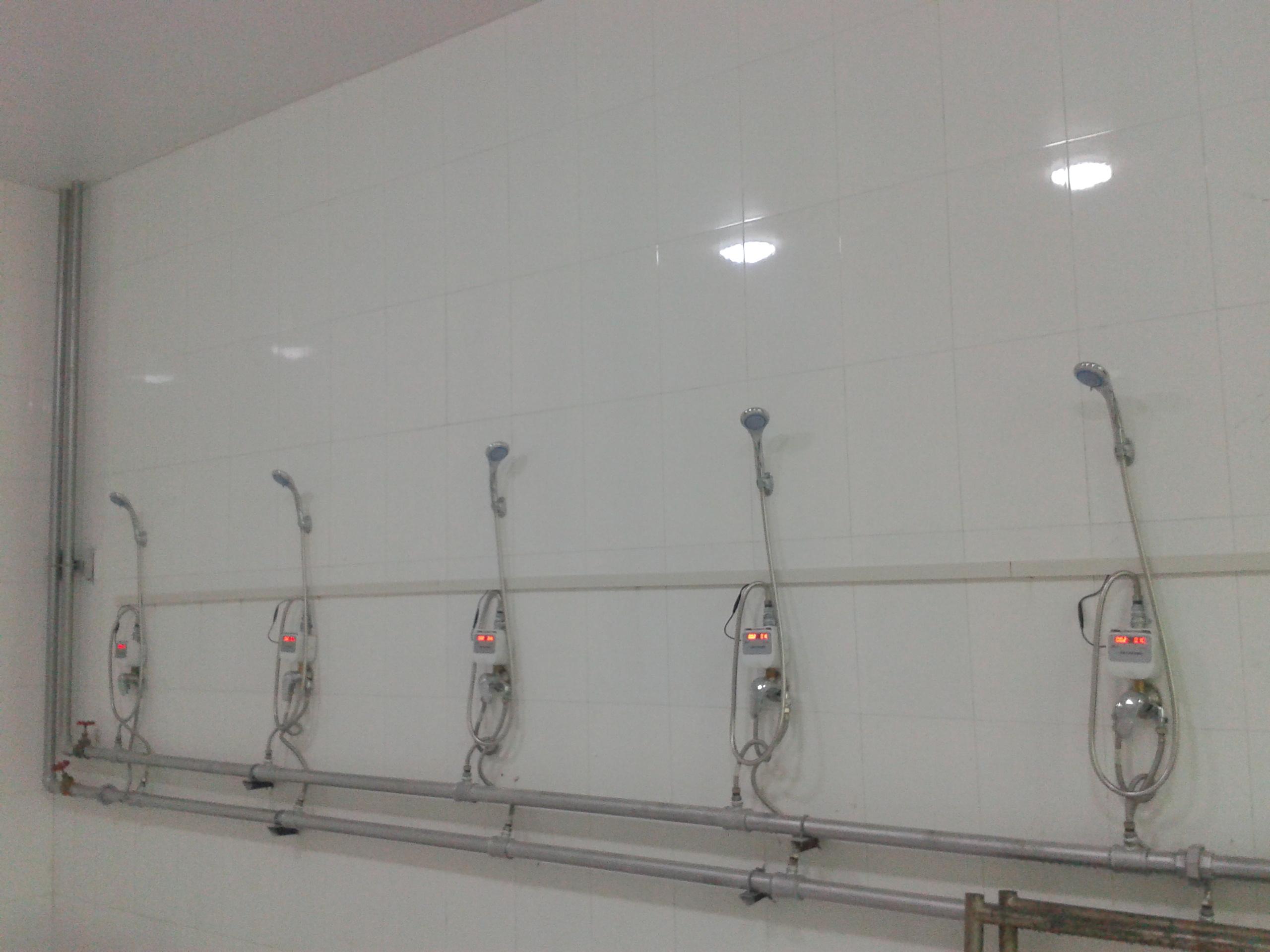 淋浴刷卡水控图片/淋浴刷卡水控样板图 (2)