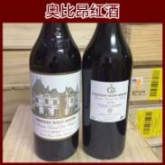 奥比昂红酒图片