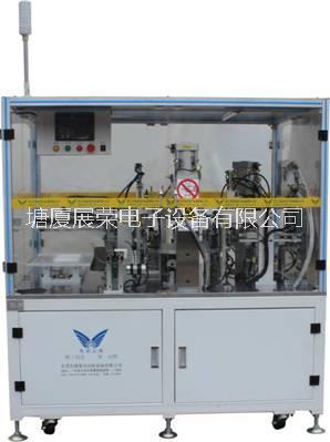 ZR-380B充电器自动铆弹片机,充电器铆胶壳机